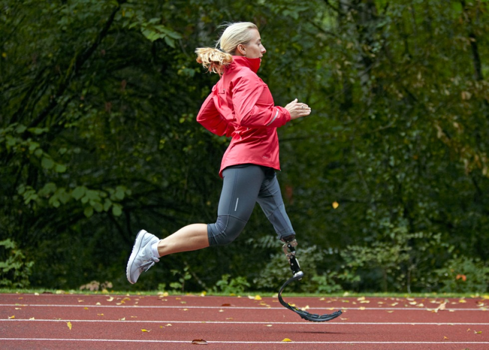 Nike gör sula till benprotes