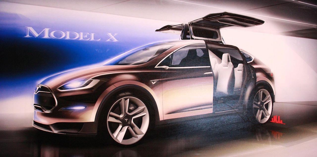 Tesla Model X nu officiell