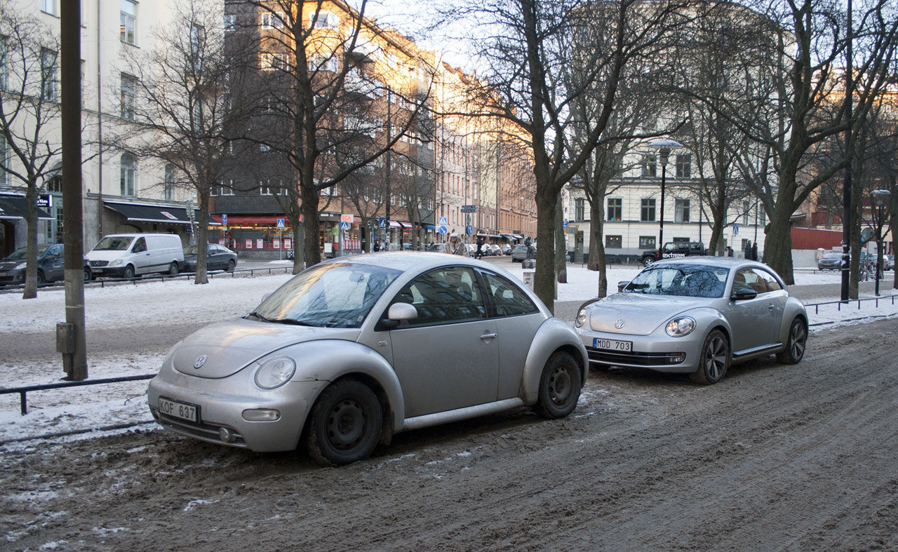 Old New vs New New Beetle
