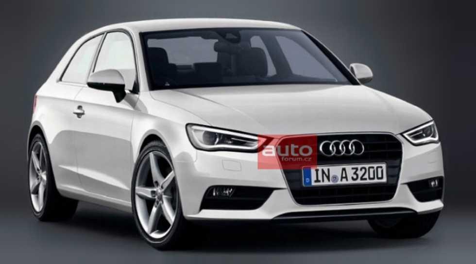 Kan det här vara nästa Audi A3 månne?