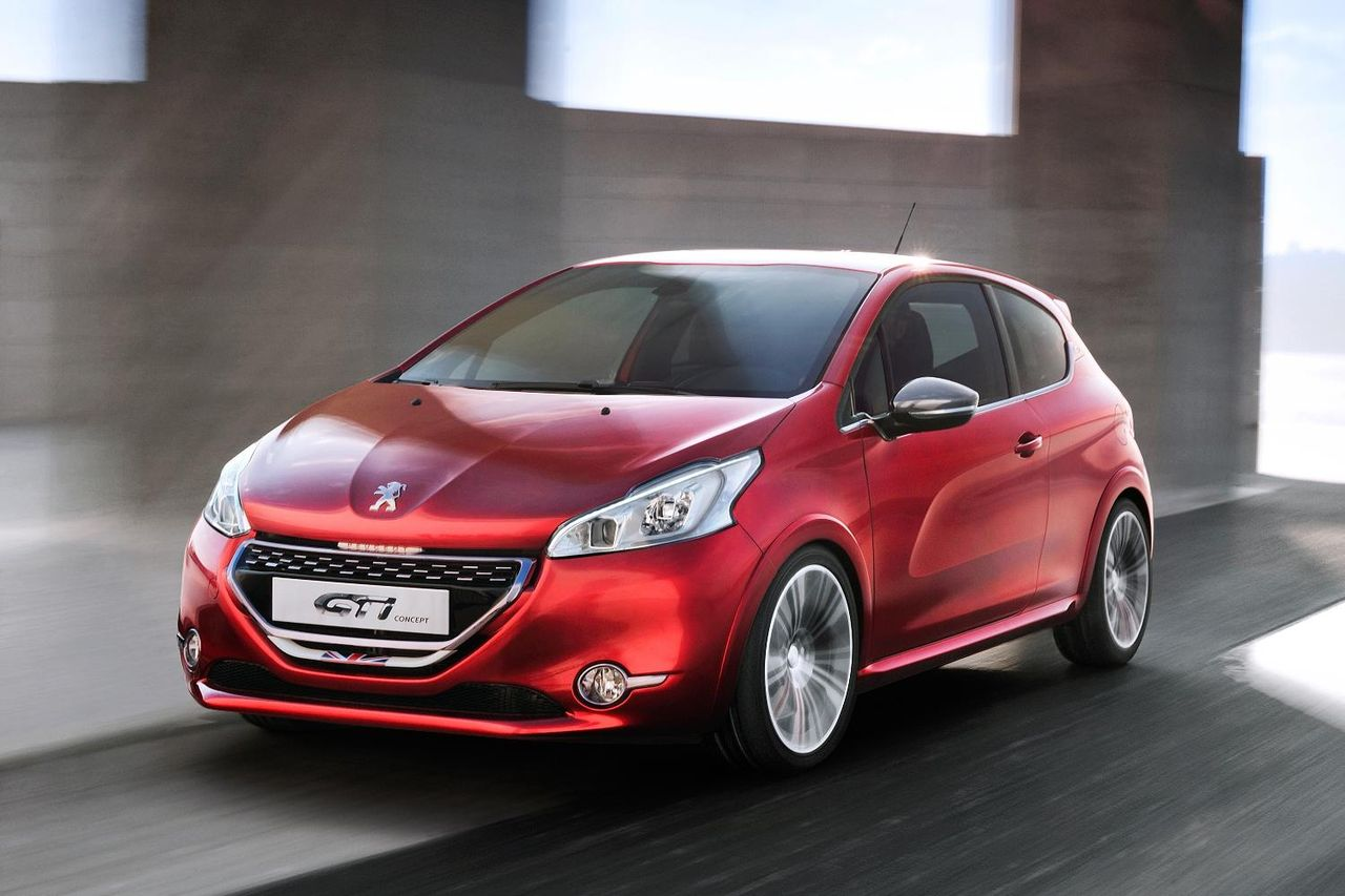 Peugeot GTi Concept och XY Concept till Genève