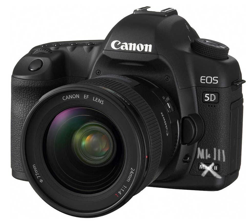 Två nya 5D från Canon?