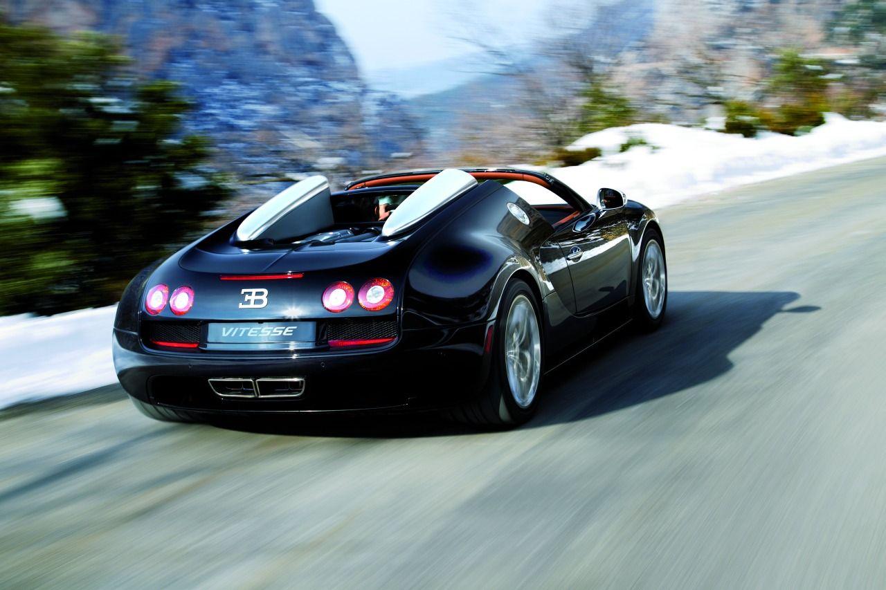 Öppen version av Bugatti Veyron Super Sport officiell
