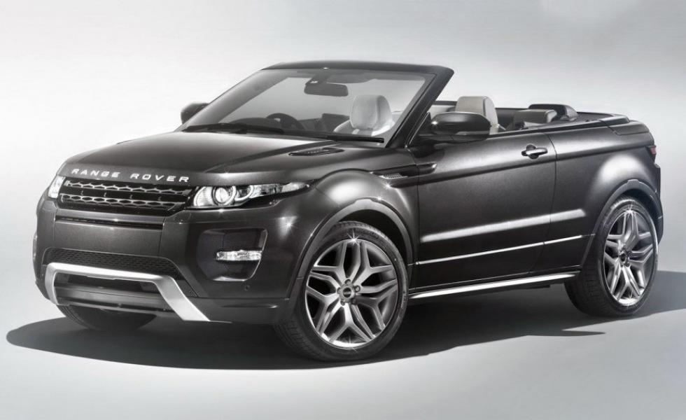 Range Rover Evoque i cabbat utförande till Genève