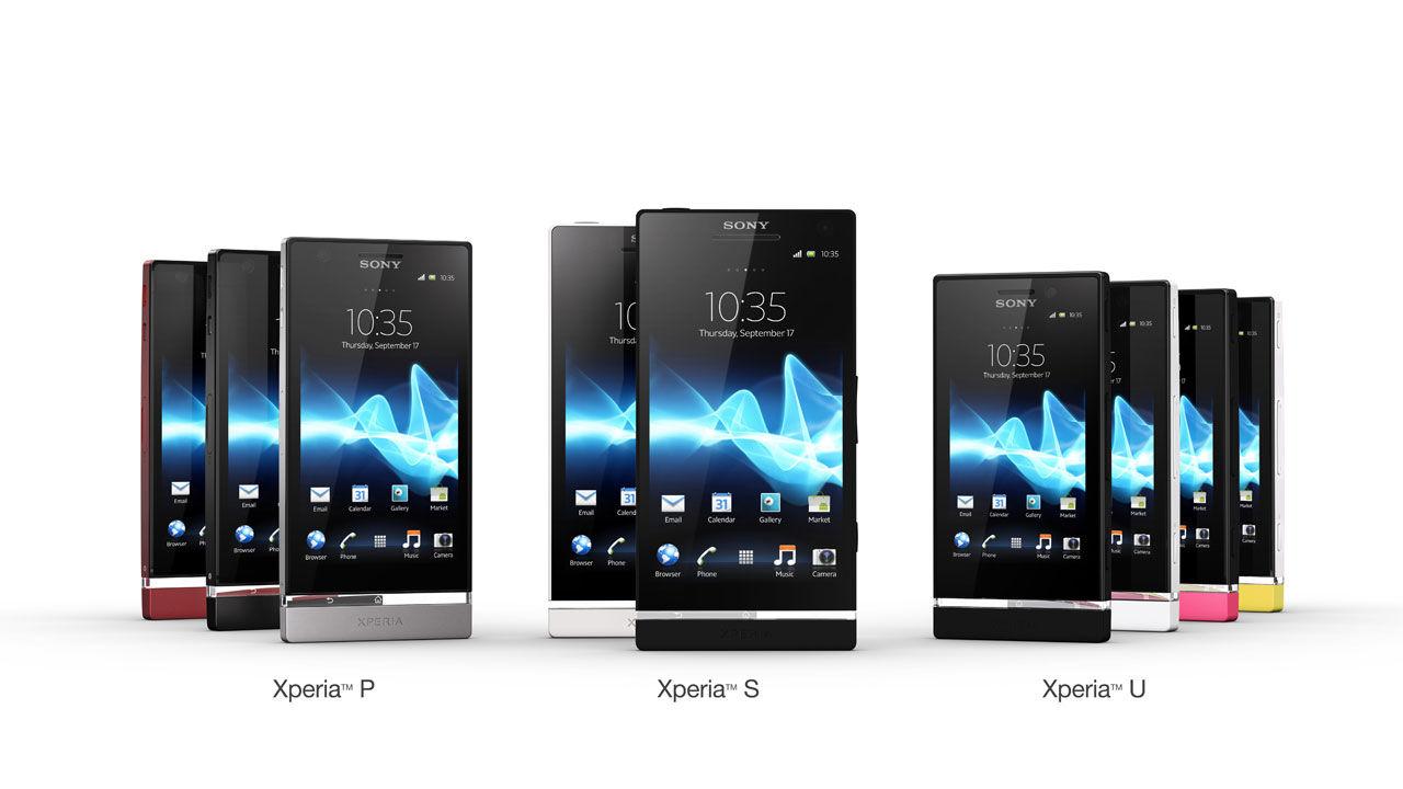 Sony släpper Xperia U och Xperia P