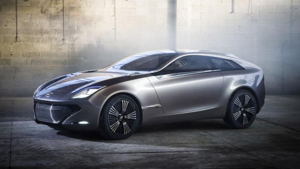 En riktig bild på Hyundais nya konceptbil
