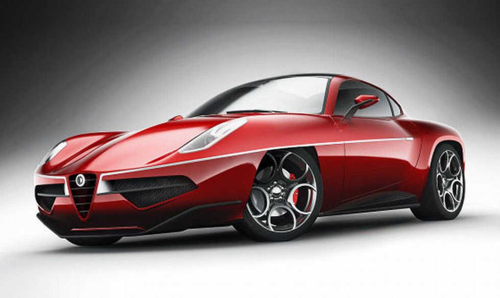 Bilder på nytolkningen av Alfa Romeo Disco Volante