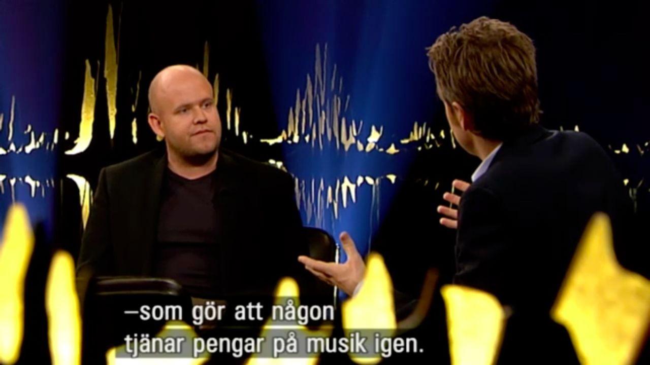 Daniel Ek på Skavlan