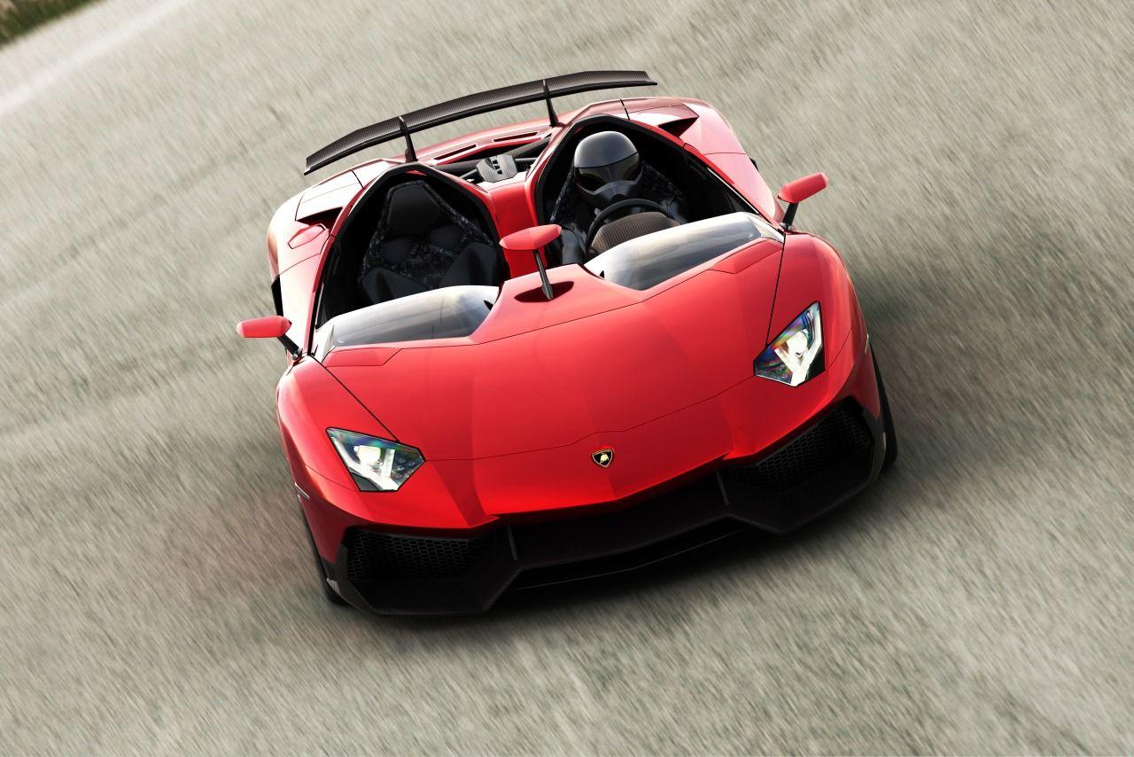 Mer bilder på Lamborghinis roliga koncept Aventador J
