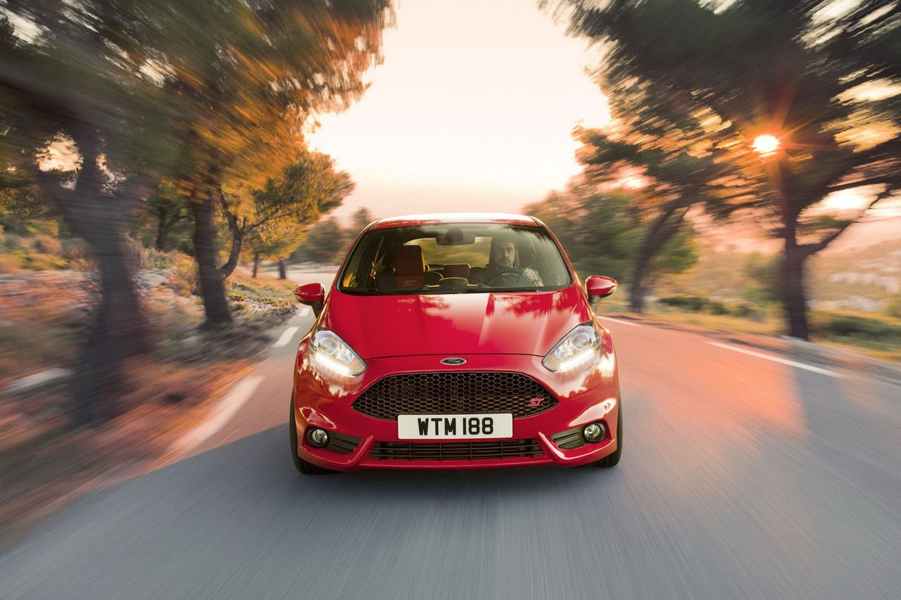 Fords lilla Fiesta presenterad i ST-skrud