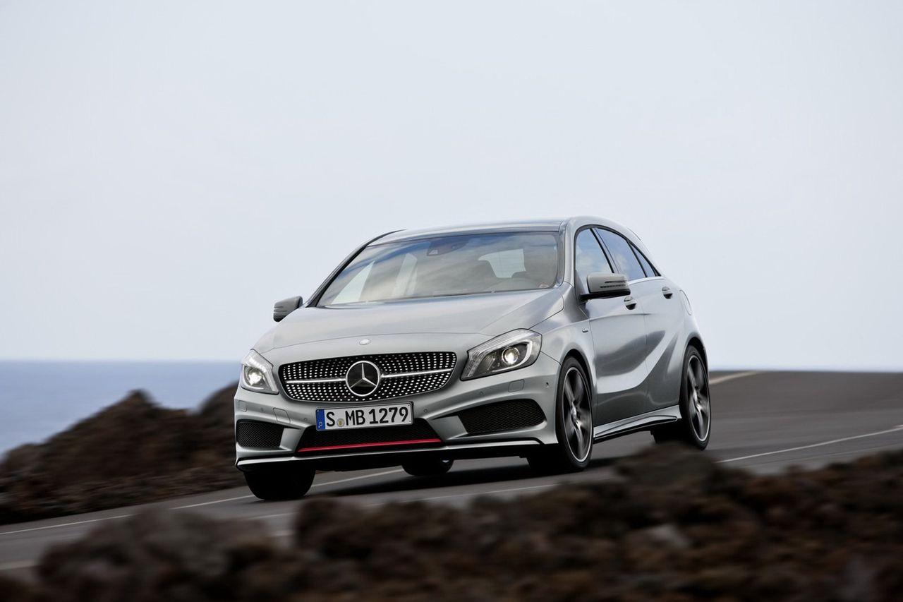 Infon om nya Mercedes A-klass släppt
