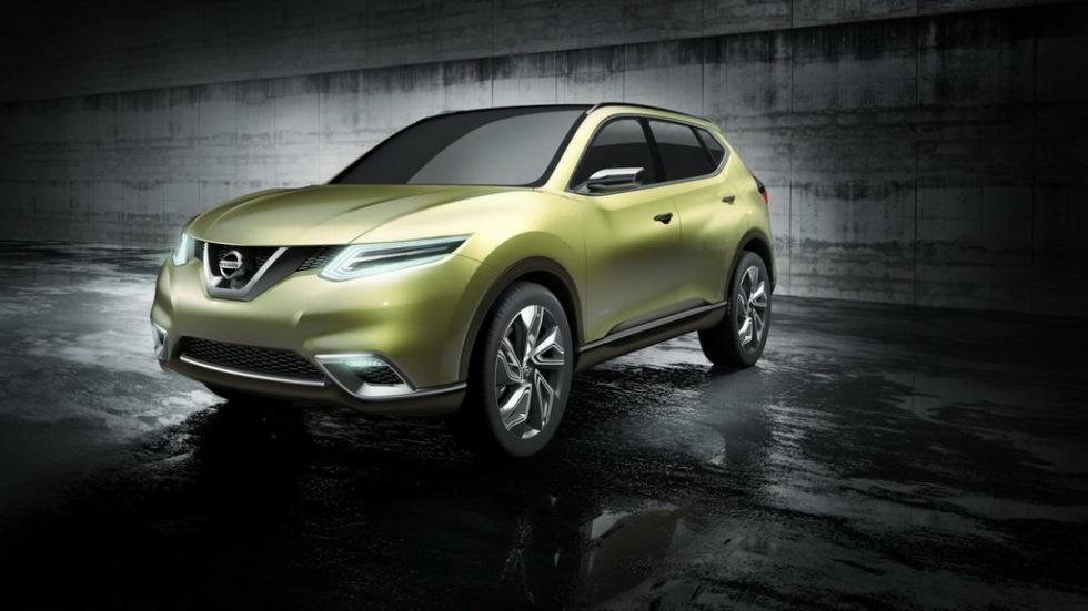 Nissans framtidscrossover har plats för sju