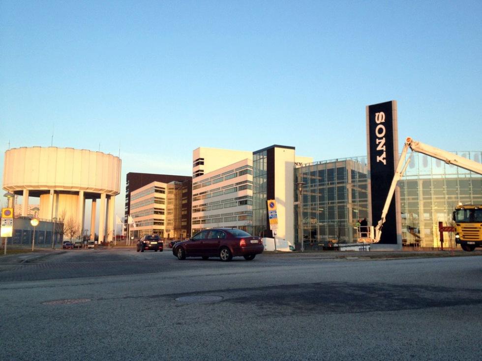 Nu är Sony Ericsson Sony Mobile även i Lund