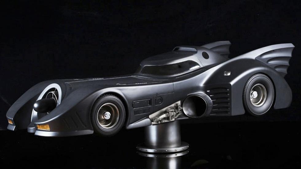 En modell av Batmobile