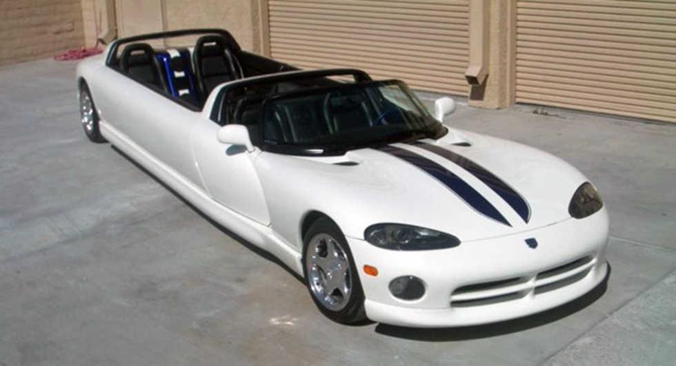 Dodge Viper med plats för tolv personer