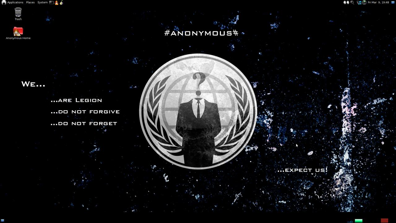 Anonymous släpper eget operativsystem