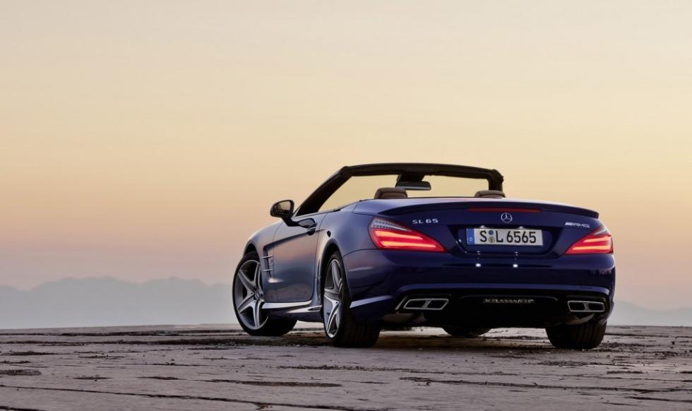 Mercedes presenterar hövdingen i SL-gänget - SL 65 AMG