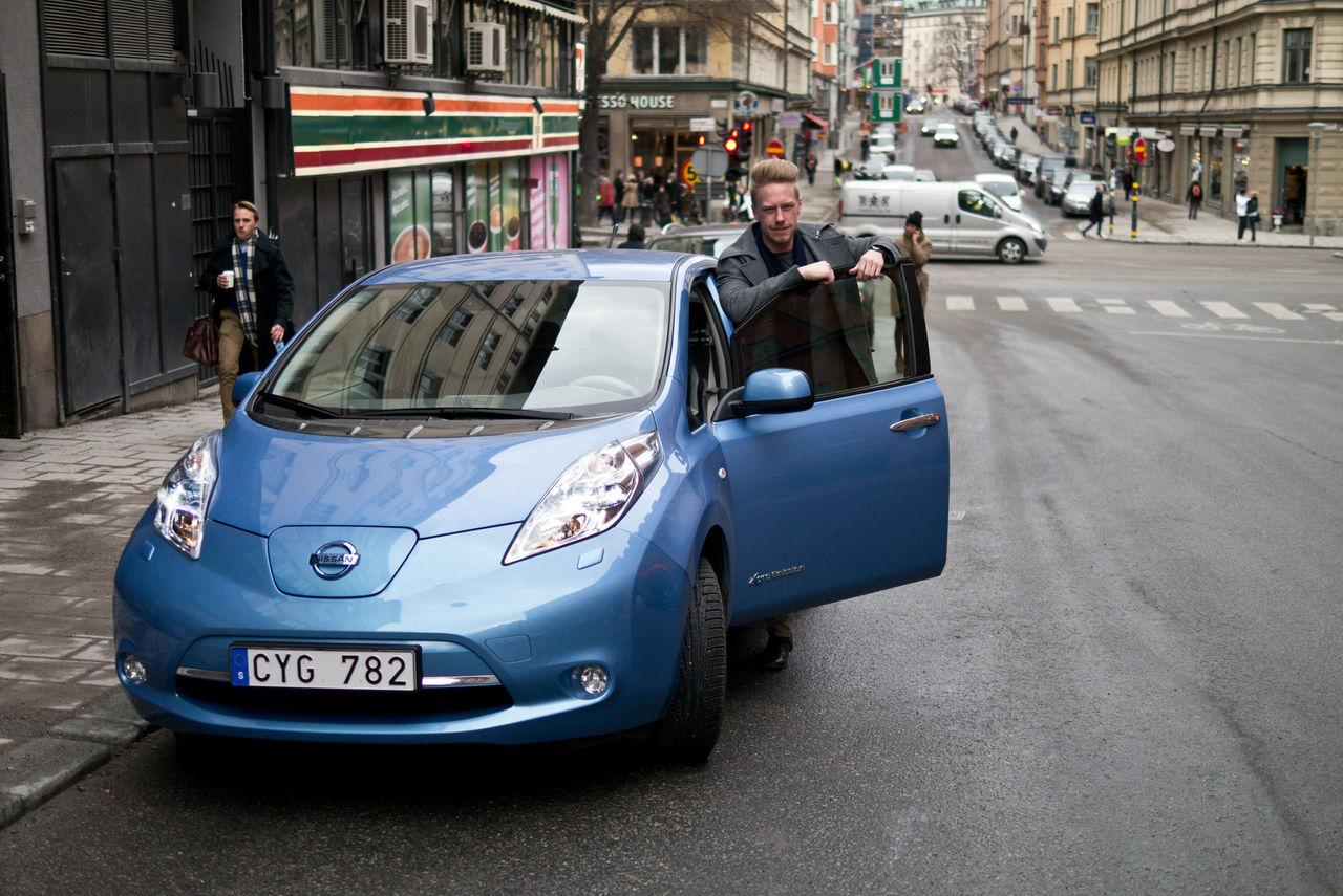 Hur techig är Nissan Leaf?