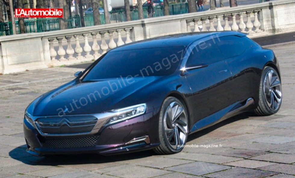 Citroëns ny koncept DS9 i all sin prakt