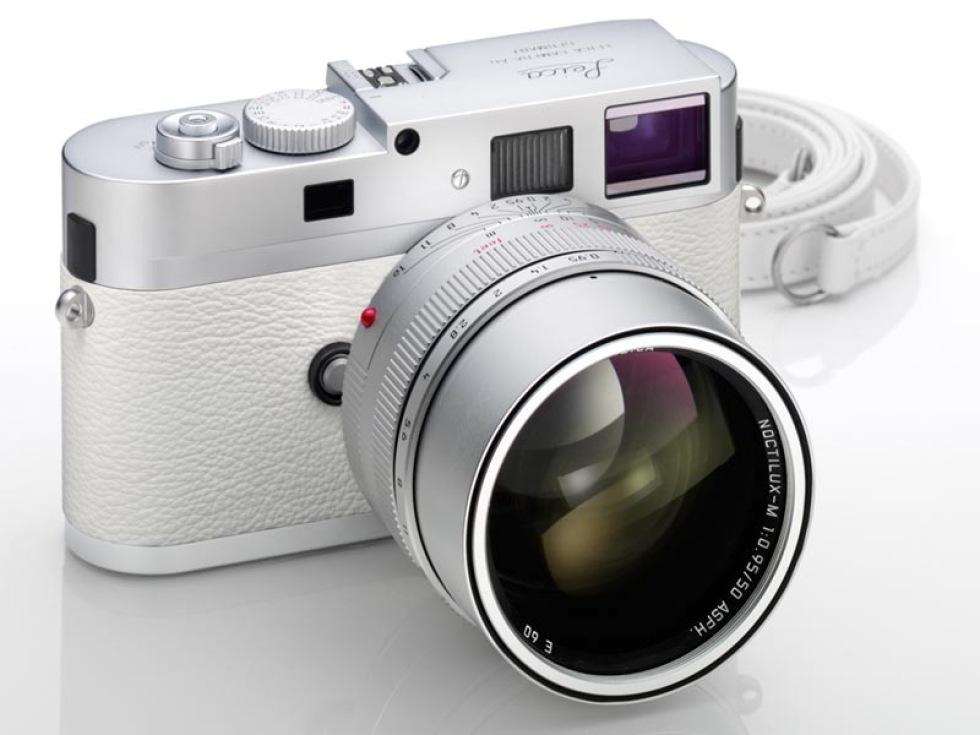 Vit Leica M9-P är inte direkt billig