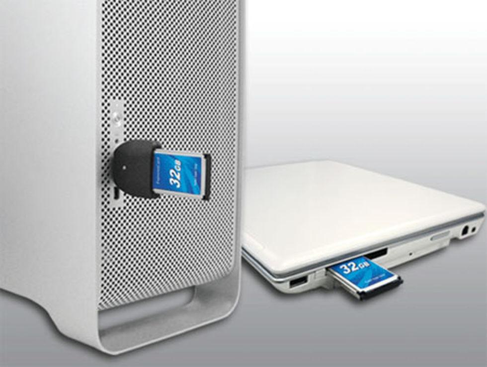 32GB SSD ExpressCard från Transcend