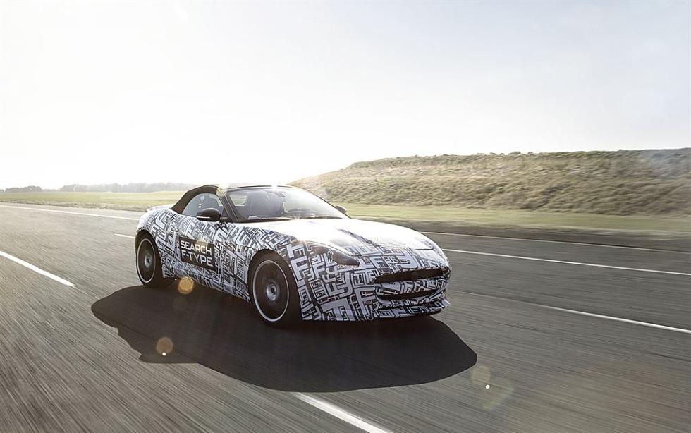 Ny sportbil från Jaguar - F-Type