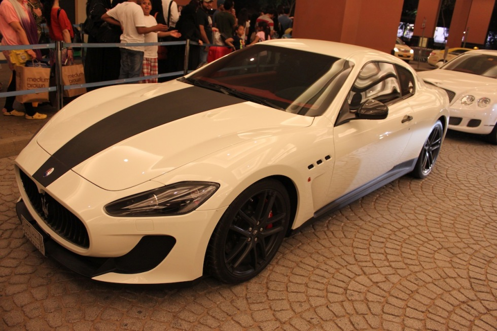 Carspottings från Dubai
