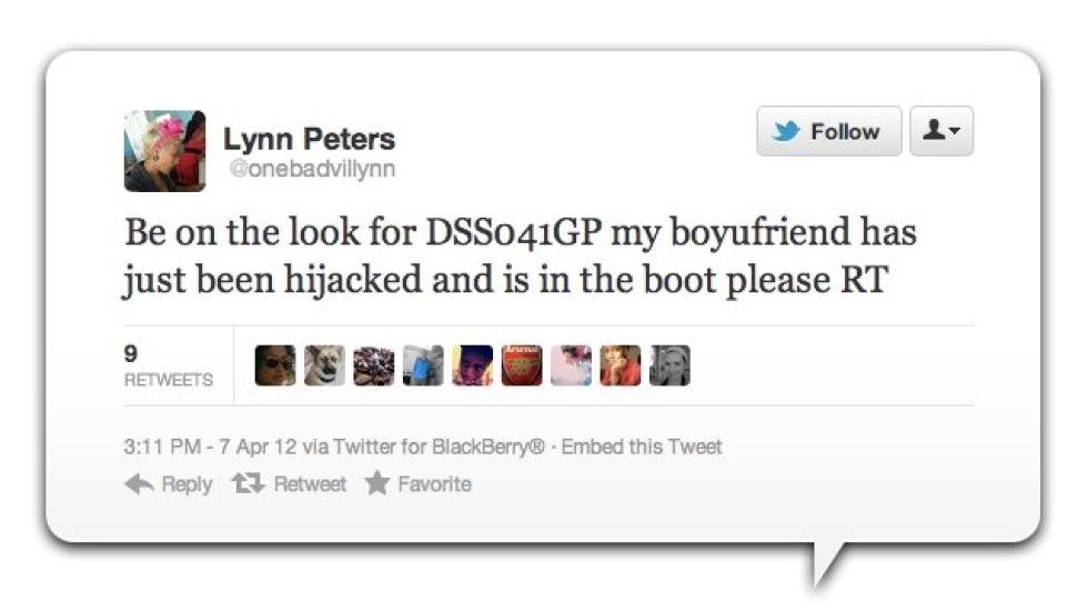 Twitter räddar kidnappad man i Sydafrika
