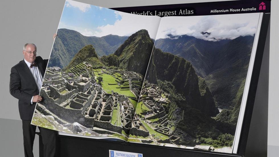 Världens största atlas