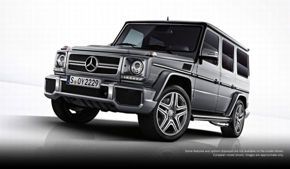 Första bilderna på nya Mercedes G 63 AMG