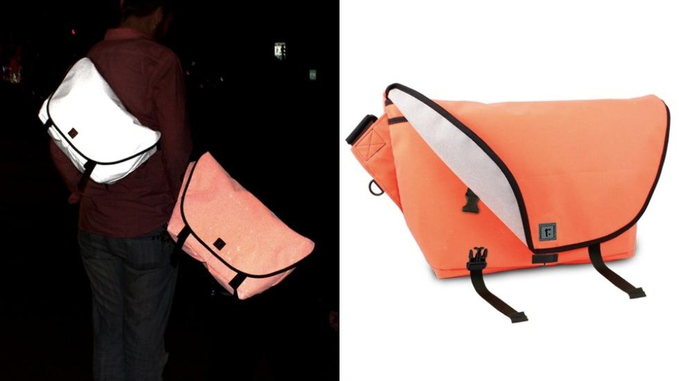Väska som lyser i mörkret. Fungerar som reflex | Feber Pryl