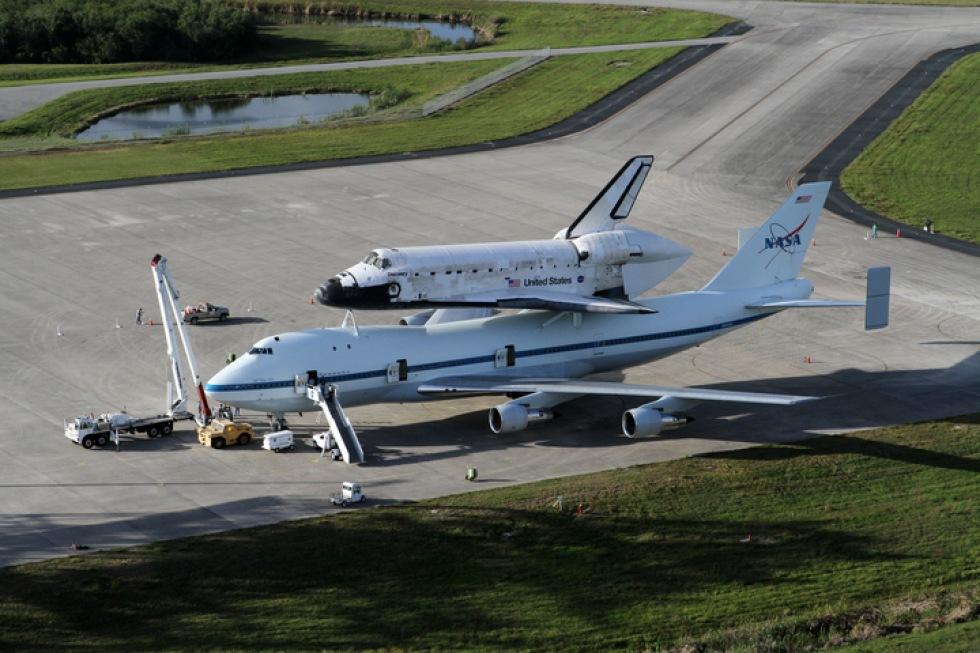Rymdfärjan Discovery redo för sin sista flygning