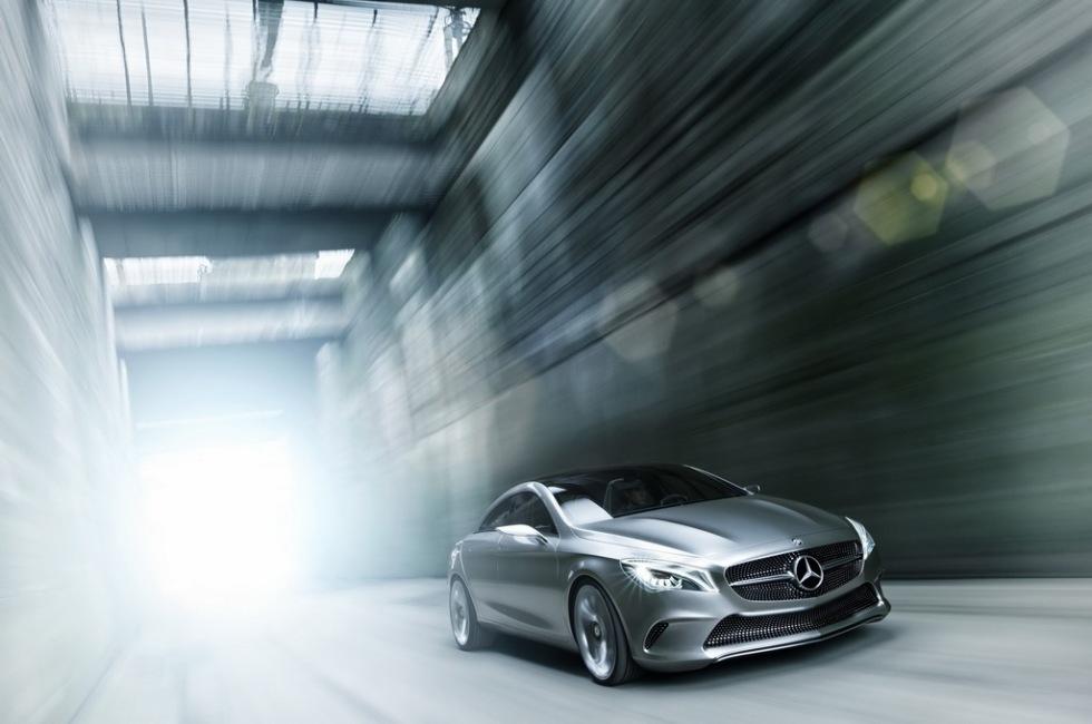 De läckta bilderna på Mercedes Concept Style Coupé var äkta