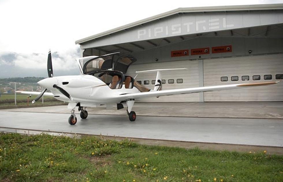 Pipistrel släpper eldrivet flygplan