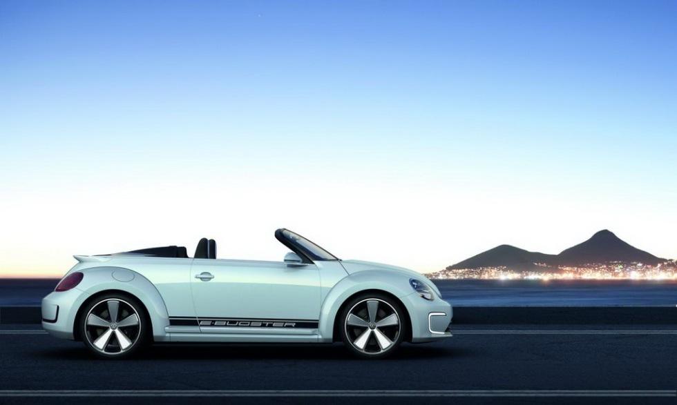 Volkswagen E-Bugster i cabbat utförande