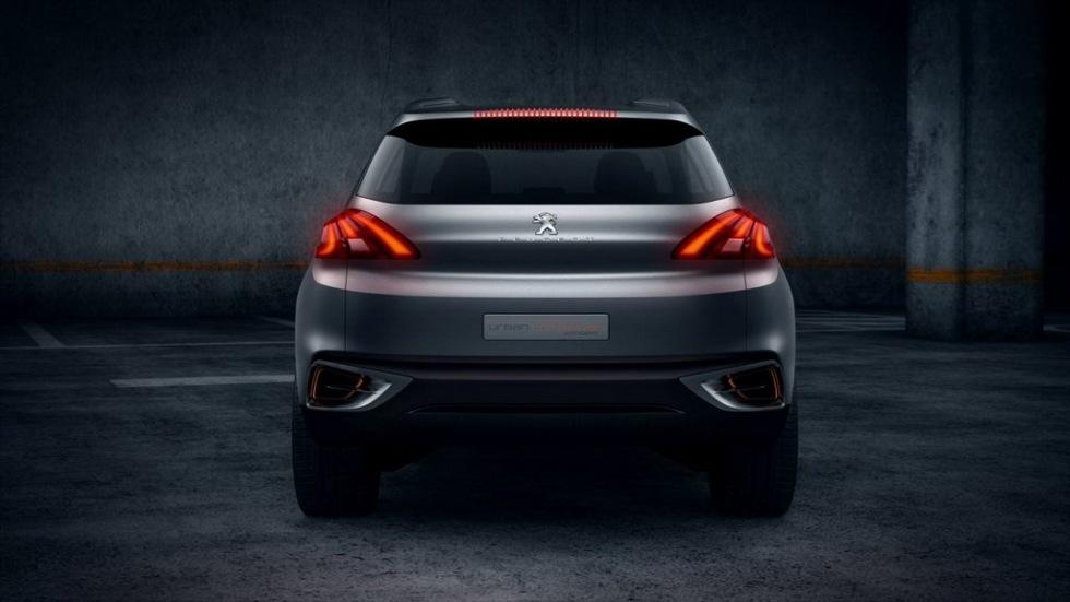 Crossoverkoncept för stan från Peugeot