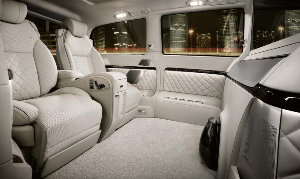 Ultra-lyxig Mercedes Viano