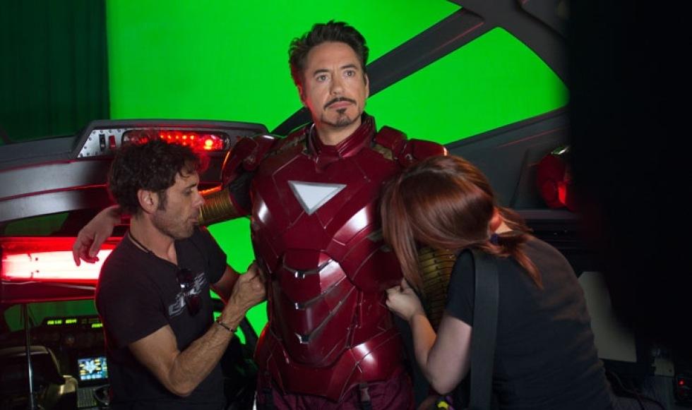 Downey Jr åter vitsig i järnrustning