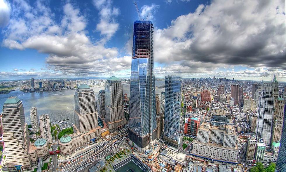 Freedom Tower är nu New Yorks högsta byggnad