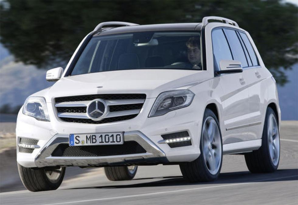 Mercedes kommande GLA ska konkurrera med BMW X1