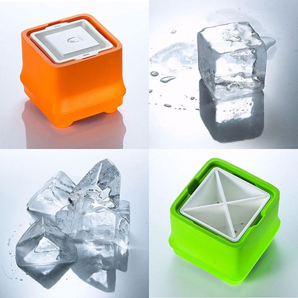 Gör kristallklar is