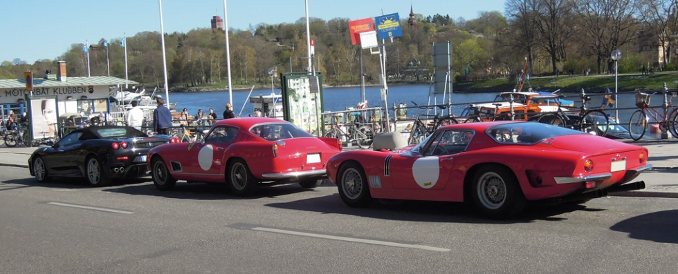 Bizzarrini GT 5300 Strada och Ferrari 250 TdF