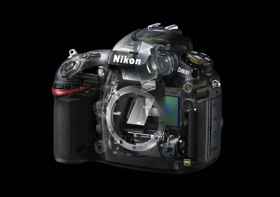 Nikon D800/D4 låser sig