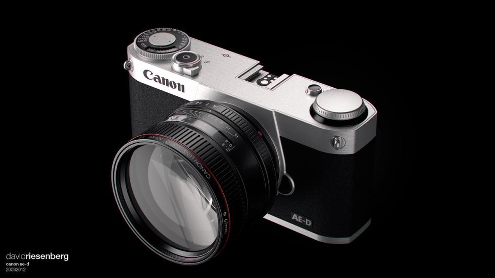 Rykten om spegellös systemkamera från Canon