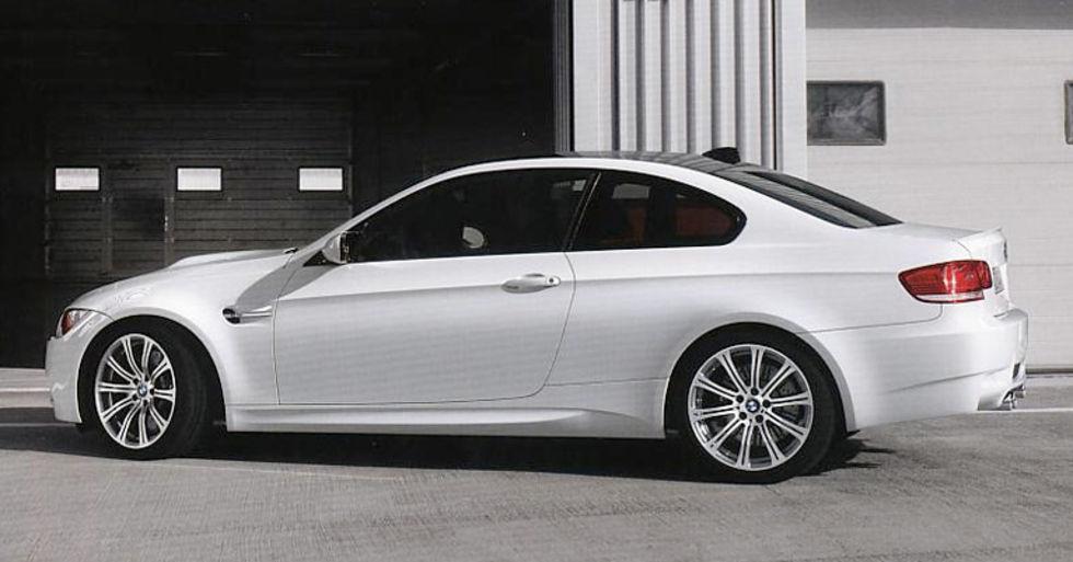 BMW M3 är bäst, åtminstone enligt BMW själva