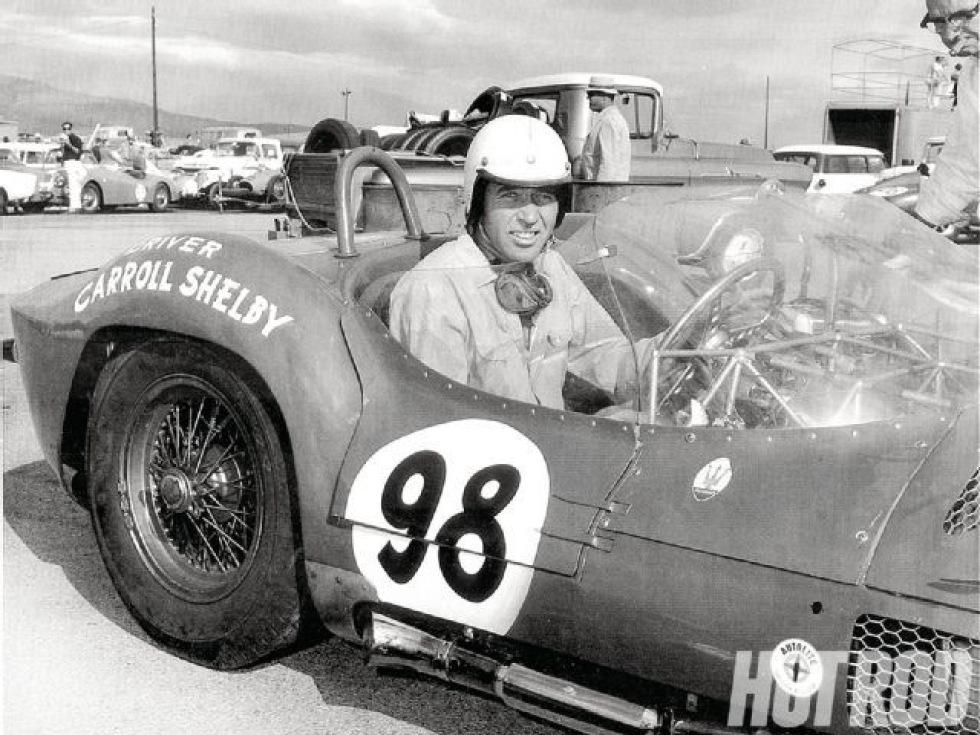 Bilfantasten och legendaren Carroll Shelby död