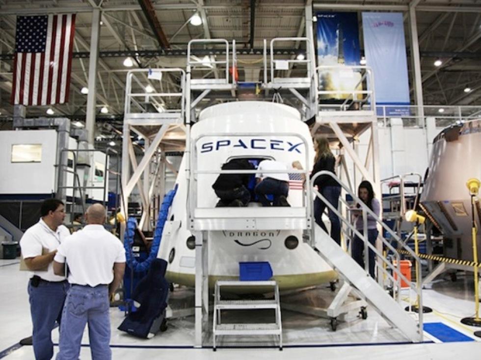 SpaceX åker till ISS den 19:e maj
