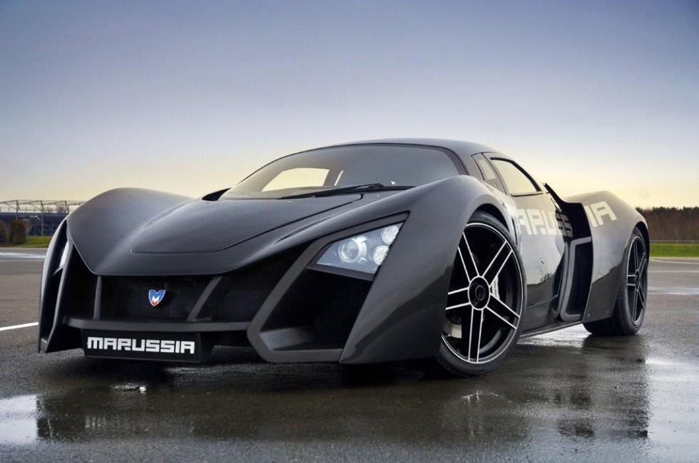Den ryska superbilen Marussia B2 är slutsåld