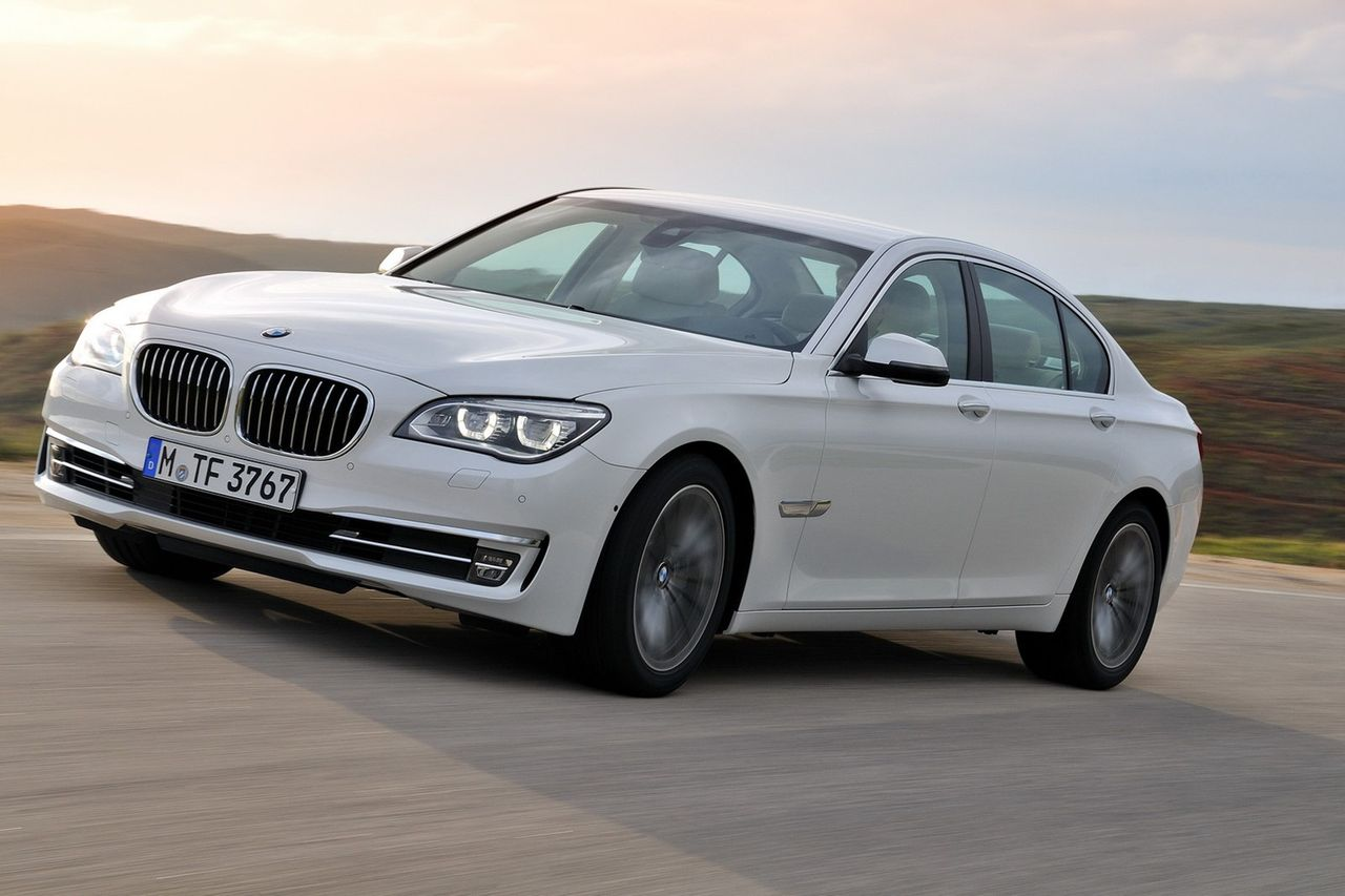 BMW lyfter 7-serien