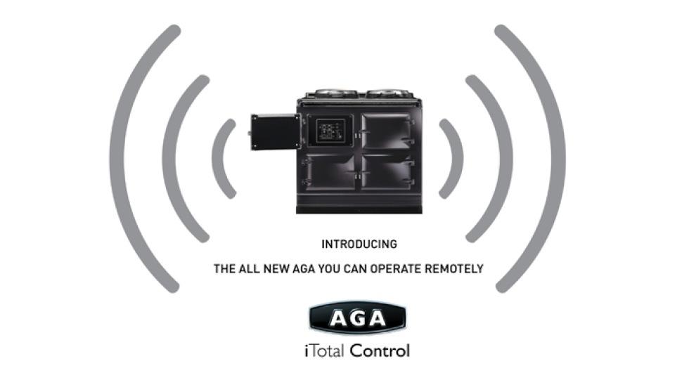 AGAs nya spis kan fjärrstyras via SMS eller webben